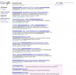 Google AdWords - linki wyświetlane na dole