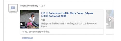 Porno na Facebooku?